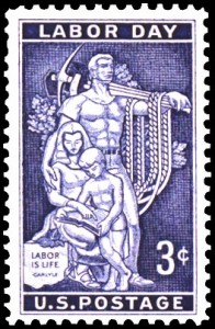 Labor Day-stamp
